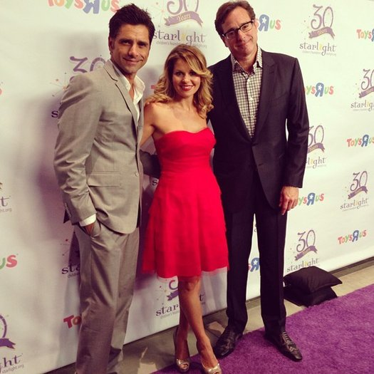 Candace Cameron Bure Tweets Sweet 'Full House' Reunion PHOTO