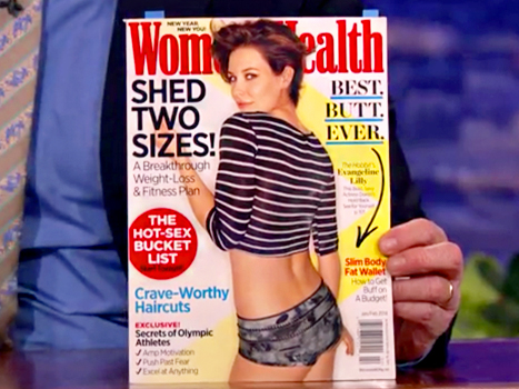 Evangeline Lilly Slams Cover