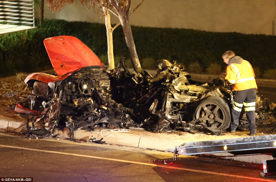 Paul Walker Dies: Video Shows Horrific Crash