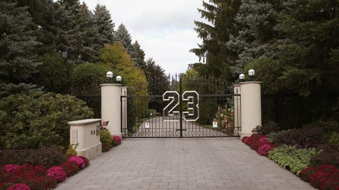 michael jordan Estate