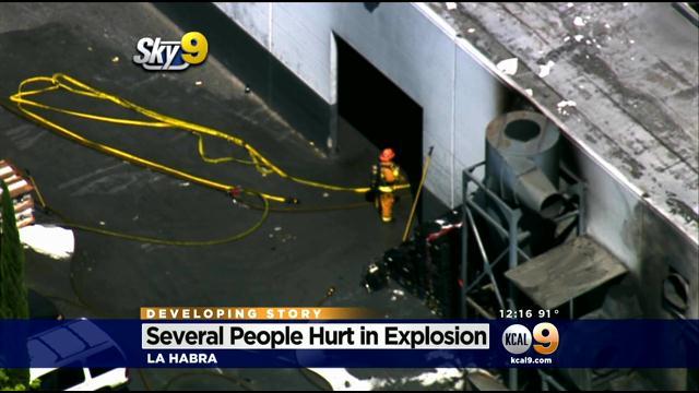 La Habra explosion:  Polish plant explosion sends 11 to hospital
