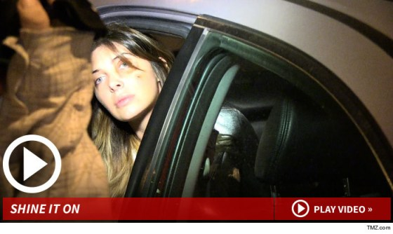 Brittny Gastineau Goes Out on the Town with a Black Eye