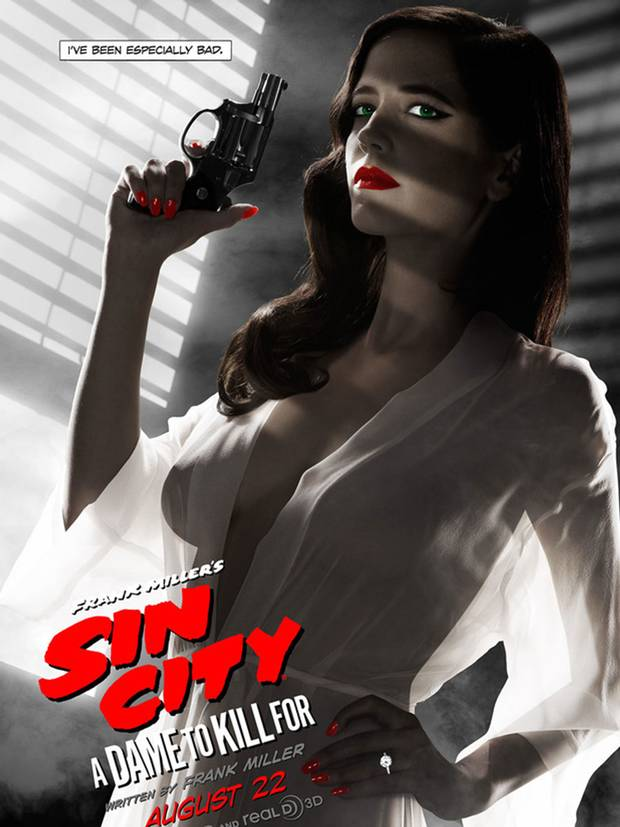 Eva Green racy poster too sexy for MPAA