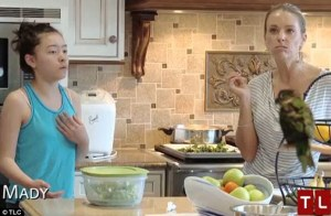Revolting: Kate fumes after her teenage daughter complains about the party in the preview clip of Kate Plus Eight: Sextuplets Turn 10