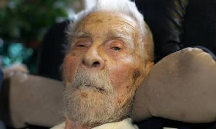 worlds oldest man dies At 111 Years Young (PHOTO)