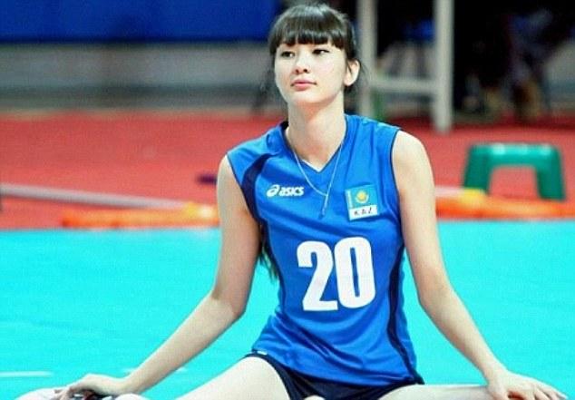 Sabina Altynbekova volleybal