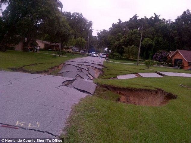sinkhole homes Florida 2