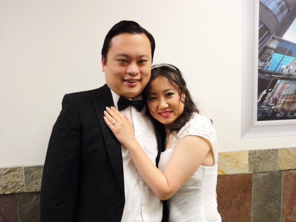 William Hung and Jian Teng COURTESY WILLIAM HUNG