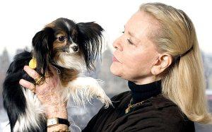 lauren bacall dog: Lauren Bacall's Bequest Ensures Future Care of Beloved Dog