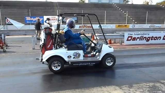 World's Fastest Golf Cart: Sets World Record at 119 MPH