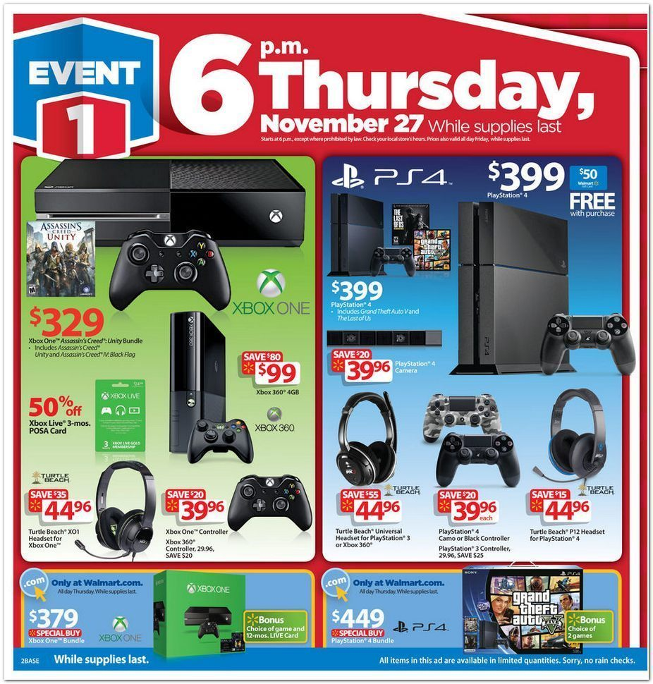 walmart black friday flyer  2
