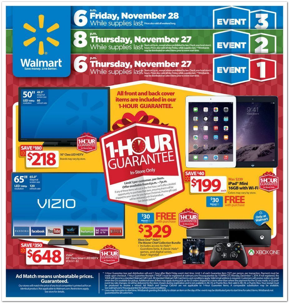walmart black friday flyer