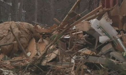 "Man bulldozes home While Wife Ran Errands:  ""He bulldozed all her clothes in there"""