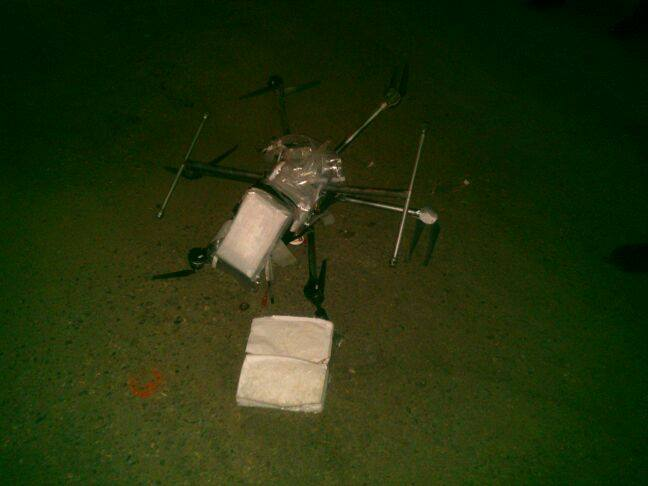 Meth Drone Crash