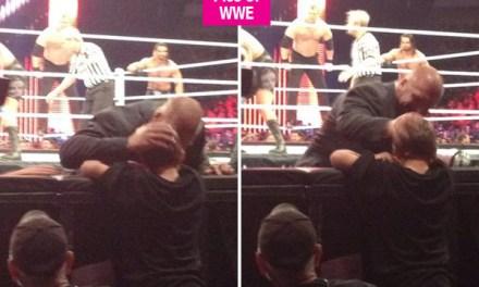Triple H breaks character:  Why Did WWE Star Break Character?