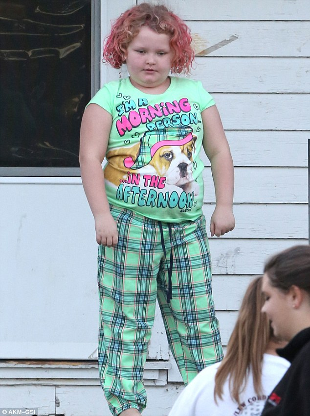 Honey Boo Boo: Diet intervention: Alana 'Honey Boo Boo' Thompson, shown in November in Georgia, had her diet and lifestyle addressed on Wednesday's episode of The Doctors