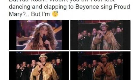 "Kid Rock Beyonce:  Kid Rock Feels The Sting Of The 'Beehive"""