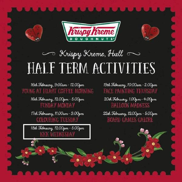 Krispy Kreme KKK Mistake Quickly Corrected