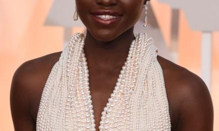 Lupita Nyong'o 6000 pearls: Lupita Nyong'o and a 6,000 Pearl Custom Gown