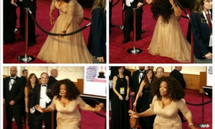 Oprah Winfrey security line:  Security Is No Match For For The All Powerful Oprah (PHOTO)