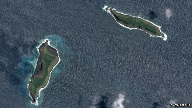 New island Tonga:  Images Reveal Formation Of New Island (PHOTO)