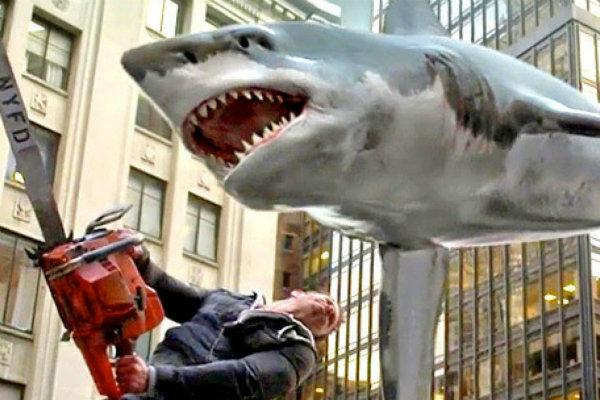 Sharknado 3 premiere Set