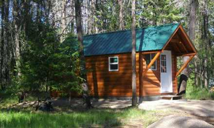 Cabin stolen then found in Washington (PHOTO)