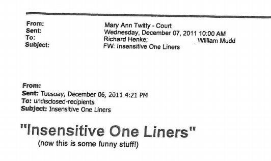 Ferguson Racist Emails 1