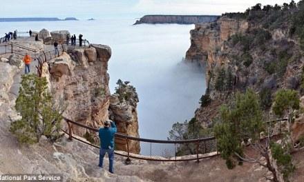 Grand Canyon Fall:  Man Falls 400 Feet As Visitors Wach