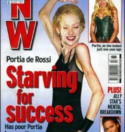 portia de rossi bulimia:  Star Talks About Her Frightening Eating Disorder