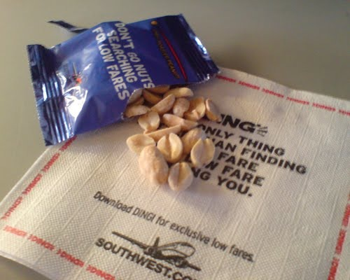 Flight Diverted Over Nuts
