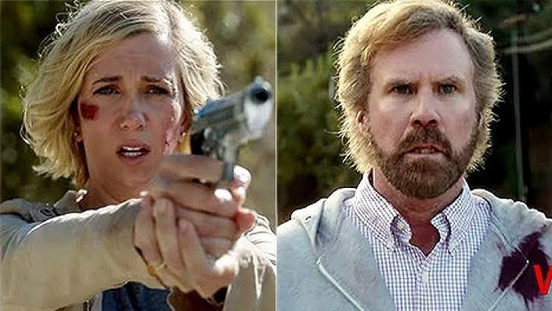 Kirsten Wiig and Will Ferrell in A Deadly Adoption. Photo: Lifetime