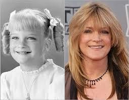 Susan Olsen, aka Cindy Brady