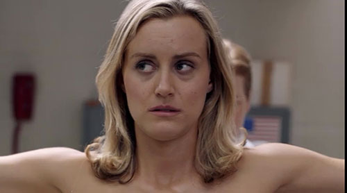Taylor Schilling Injury:  Actress Injured Filming Steamy Scene