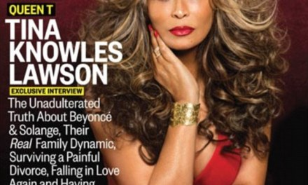 Tina Knowles Stuns On Mag Cover