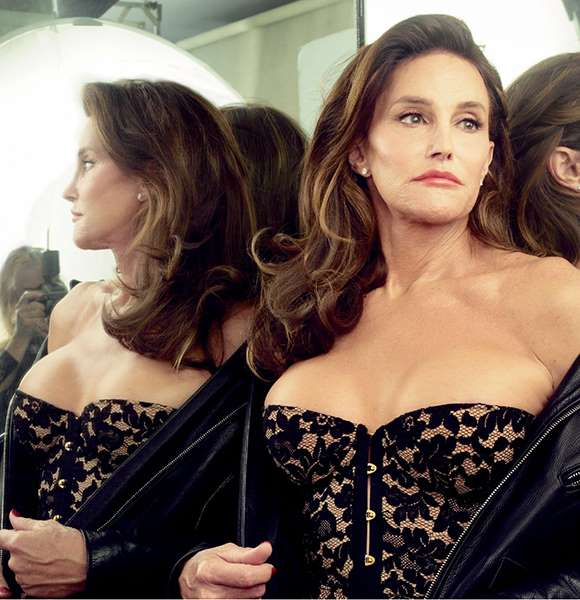 © Annie Leibovitz/Vanity Fair Caitlyn Jenner poses for Vanity Fair's July 2015 issue.