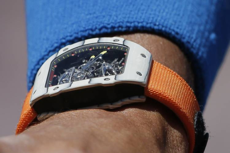 Rafael Nadal Rocks 775,000 watch (PHOTO)