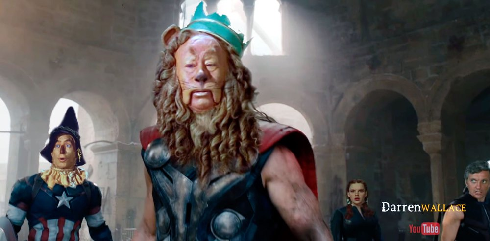 Wizard Of Oz Avengers Mashup Trailer (VIDEO)