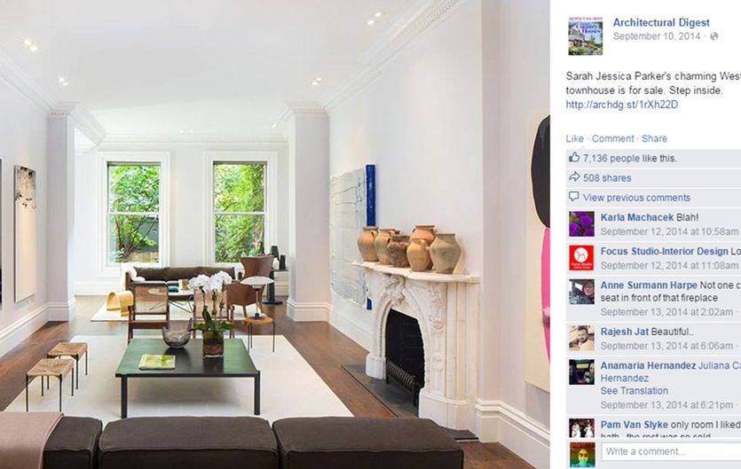 sarah jessica parker matthew broderick take loss Small Loss On $19M House