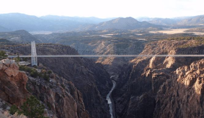 woman fall royal gorge