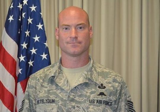 Tech Sgt. Marty B. Bettelyoun taught Survival, Evasion, Resistance, and Escape techniques to thousands of personnel. (Photo: 24th Special Operations Wing)