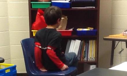 handcuffed kids: Sheriff's deputy shackled elementary school students