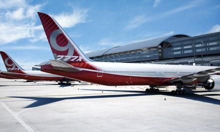 Boeing jet folding wings:  Massive Plane Will Have Folding Wings