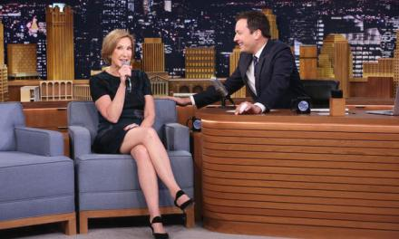 Carly Fiorina Appears On The Tonight Show