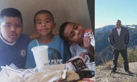 Children stabbed Los Angeles:  Father Murders His Three Sons (PHOTO)
