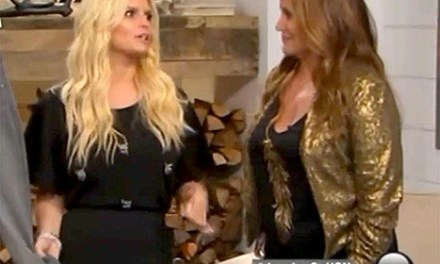 Jessica Simpson Drunk Or High During HSN Appearance