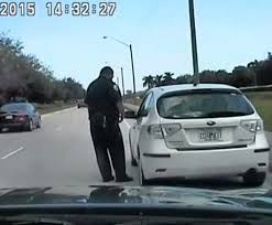 palm beach county deputy berated by angry speeder (VIDEO)