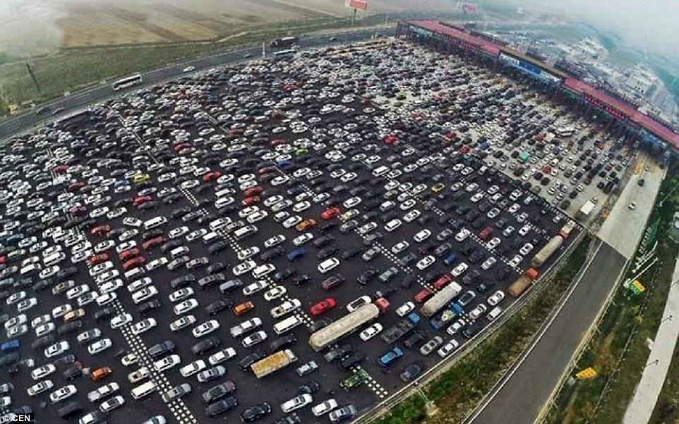 Beijing traffic jam 3