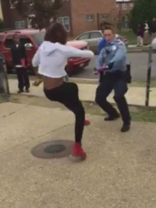 DC cop dance off