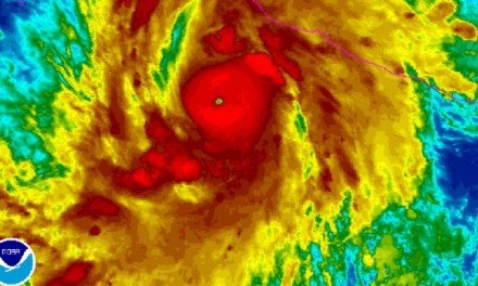 Hurricane Patricia Gains Strength (PHOTO)